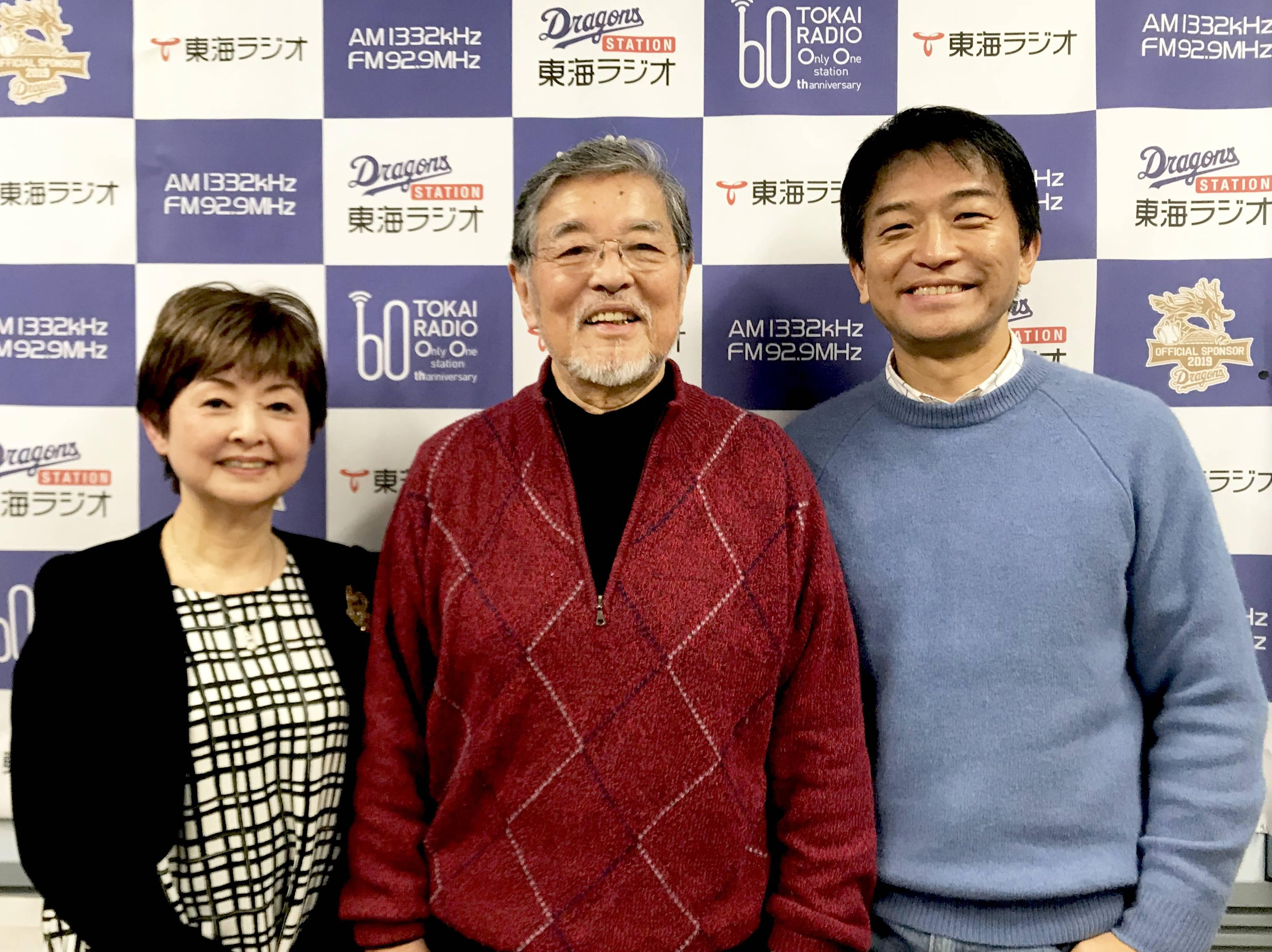 左から、森本曜子客員教授、アマチンさん、小島准教授