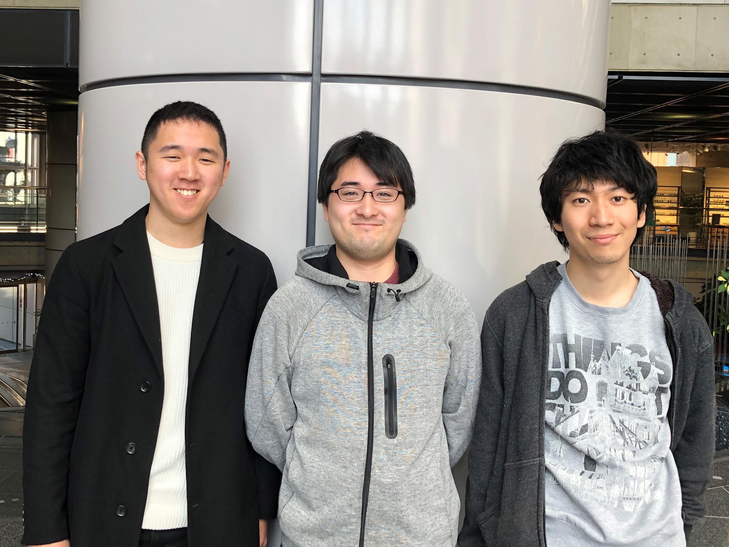 左から:安藤さん・井上さん・安田さん